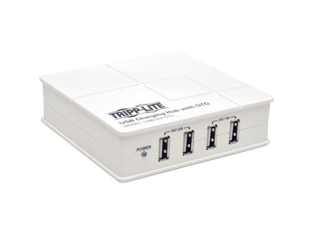 Tripp Lite 4-Port USB Charging Hub with OTG