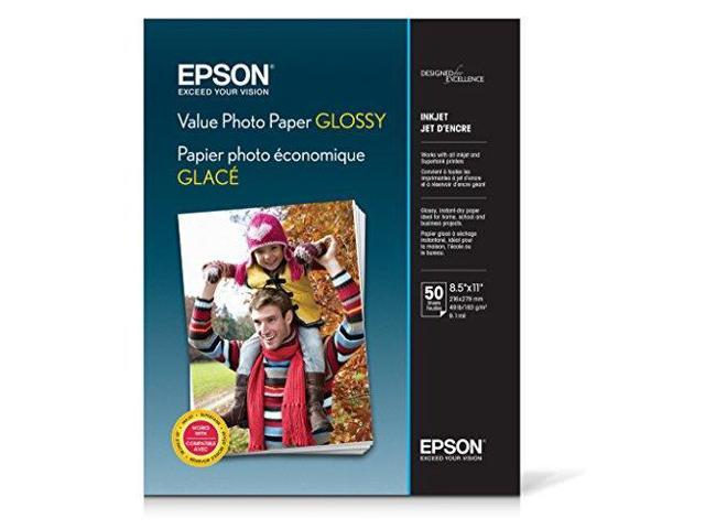 Value Photo Paper Glossy, Letter
