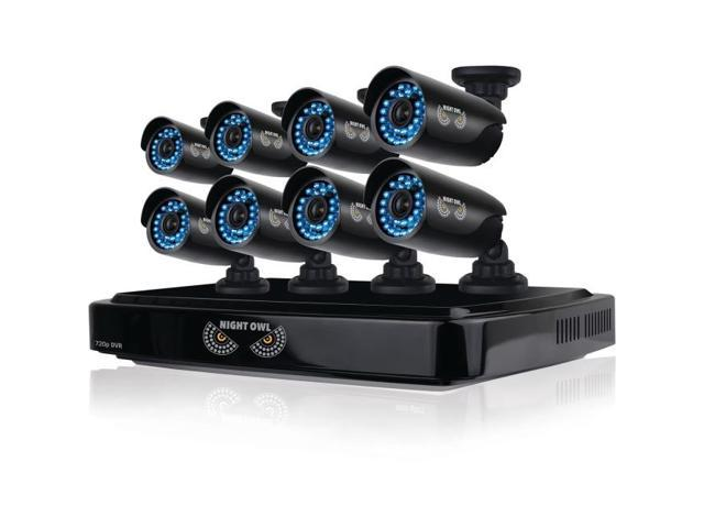 Night Owl 8 Channel Smart HD Video Security System With 2