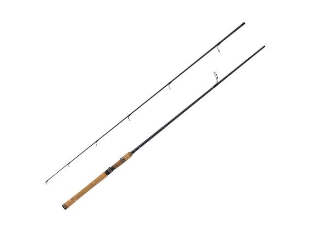 Eagle Claw BD8HS2 Diamond Series Spinning Rod, 8' 2 Piece Rod, 10-20 Lb Line Rating, Heavy Power
