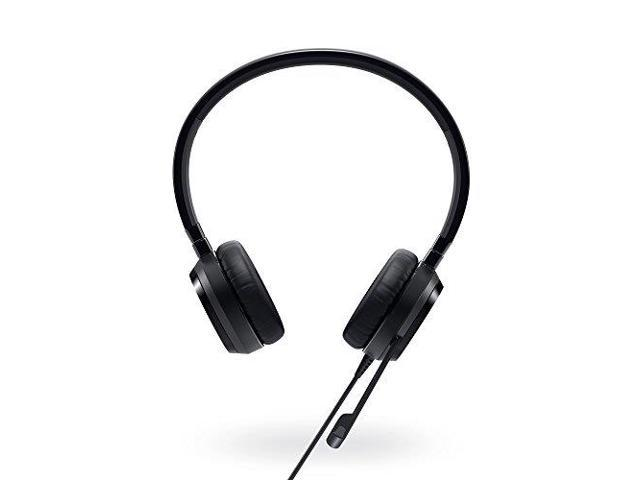 Dell - 74J6M - Dell Pro Stereo Headset - UC350 - Skype for Business - Stereo - Black - USB, Mini-phone - Wired - 32 Ohm
