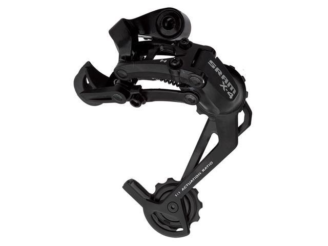 Bicycle Derailleur Sram Rear X4 Long 7/8-Speed MTB Black