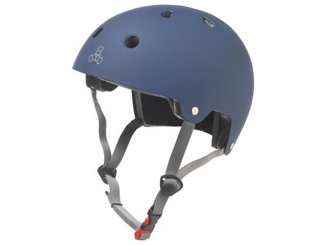 Bicycle Helmet Triple Eight Brain SVR Skate/Bike Small-Medium Blue-Rbr