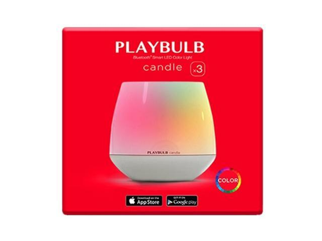 MiPow Playbulb BTL300-3 RGB Color Candle Light with app Control - Set of 3
