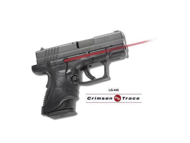 Crimson Trace Corporation Hi-Brite LaserGrip, Fits Springfield XD, Black, Front Activated LG-446