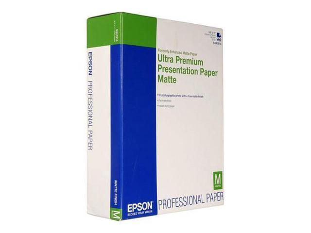 Epson S041914 Matte Paper for Inkjet, 8.5x11/250 Sheets