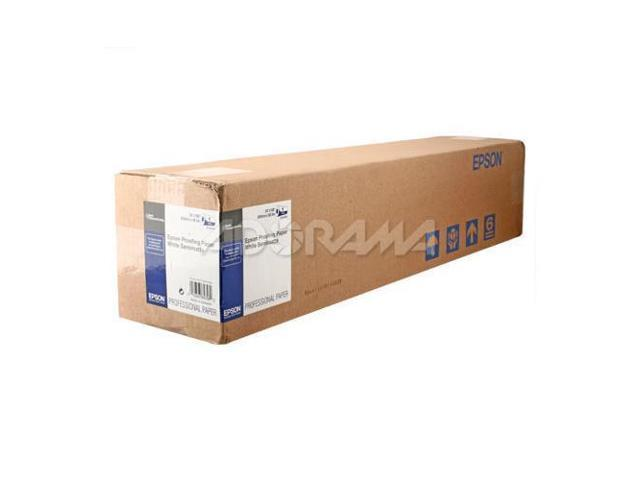 Epson S042003 Semi Matte Proofing Paper, 17in x 100Ft