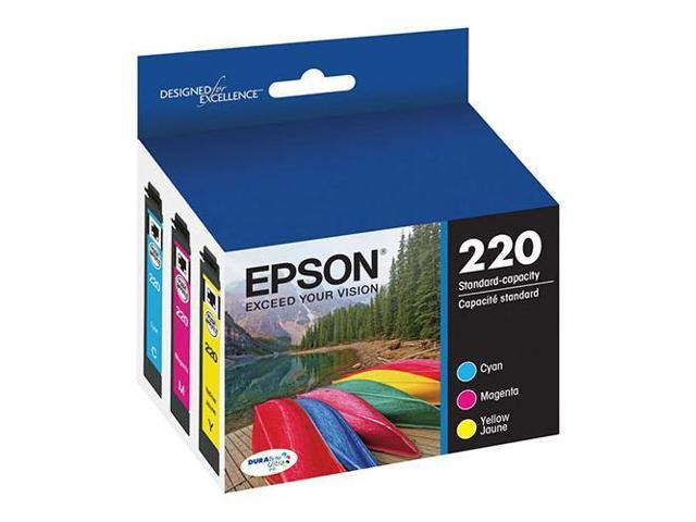 Epson T220 DURABrite Ultra Color Combo Pack Standard Capacity Ink Cartridge