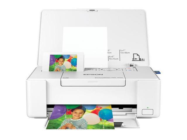 Epson PictureMate PM-400 Wireless Photo Inkjet Printer (C11CE84201)