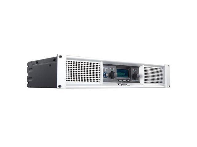 QSC GXD 4 2-Channel 1600W Professional Power Amplifier with DSP #GXD4