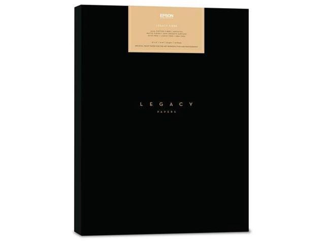 Epson Legacy Fibre Semi-Smooth Satin Photo Paper, 13x19