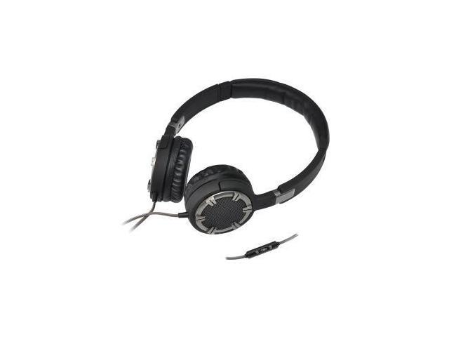 Stereo Headphones w Mic Black