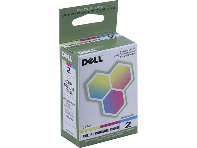 Dell Ink Cartridge - Cyan, Magenta, Yellow - Inkjet - 450 Page - 1 Pack