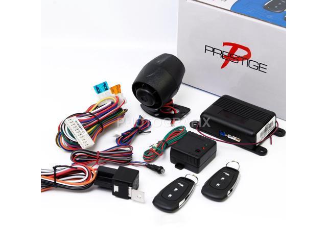 Audiovox Prestige Aps25e Remote Car Alarm System Shock