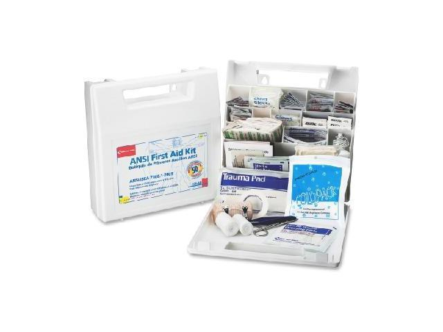 FIRST AID ONLY, INC. First Aid Only 50-person Worksite First Aid Kit FAO225AN