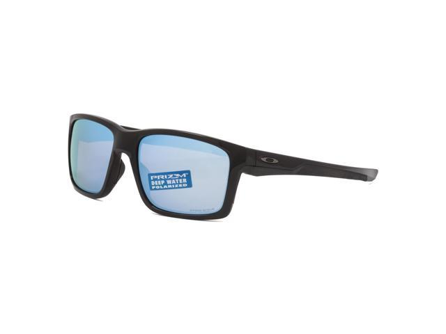 Oakley Mainlink Prizm Deep Water Polarized Sunglasses OO9264-21 Polished  Black / Prizm Salt Water