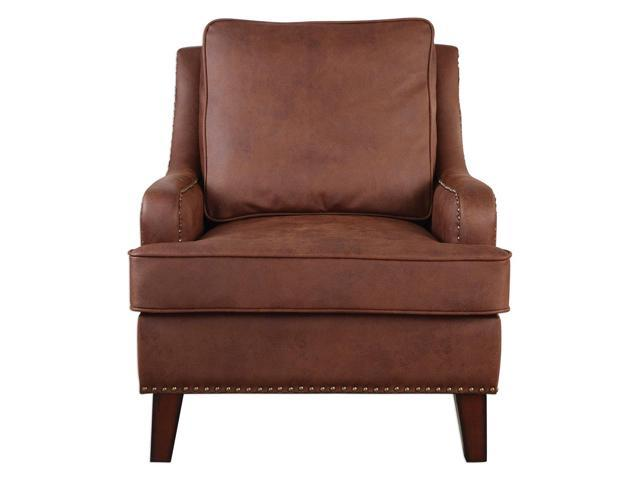Uttermost Henry Tanned Leather Arm Chair