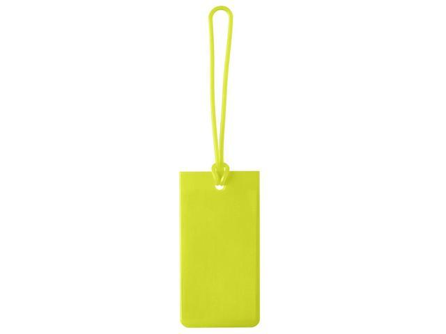 Jelly Luggage Tag - Yellow