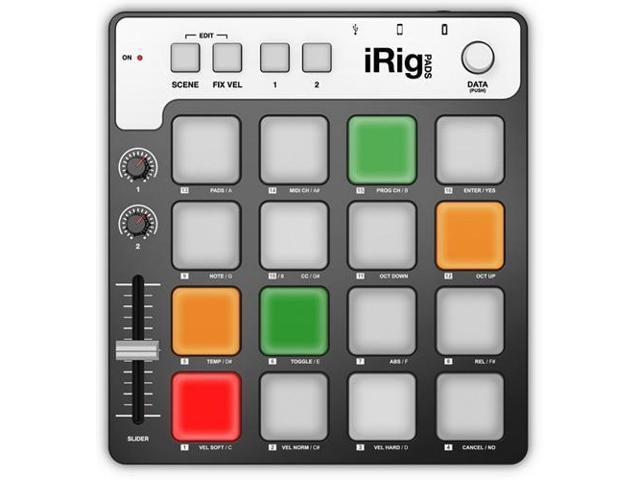IK Multimedia iRig PADS MIDI Pad Controller / Groove Production Station
