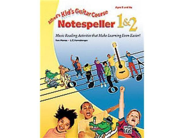 Alfred Alfred's Kid's Guitar Course Notespeller 1 & 2 -Book