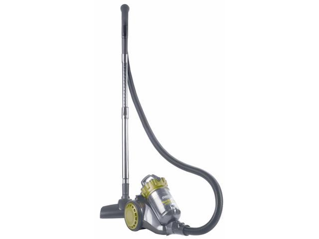 """Eureka AirExcel Compact 990A - Bagless - 10"""" Cleaning Width - 16 ft Cable Length - 72"""" Hose Length - HEPA - 9 A - Gray, Spritz ..."""