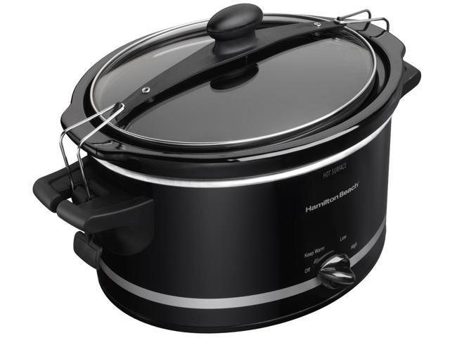 Hamilton Beach 33245 Hb 4 qt Slow cooker black