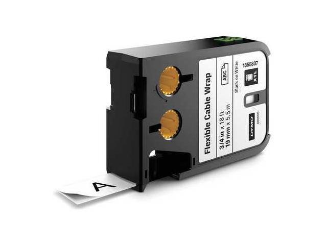 SANFORD 1868807 Cartridge Label,0.75 In W,Flex Nylon G0463359