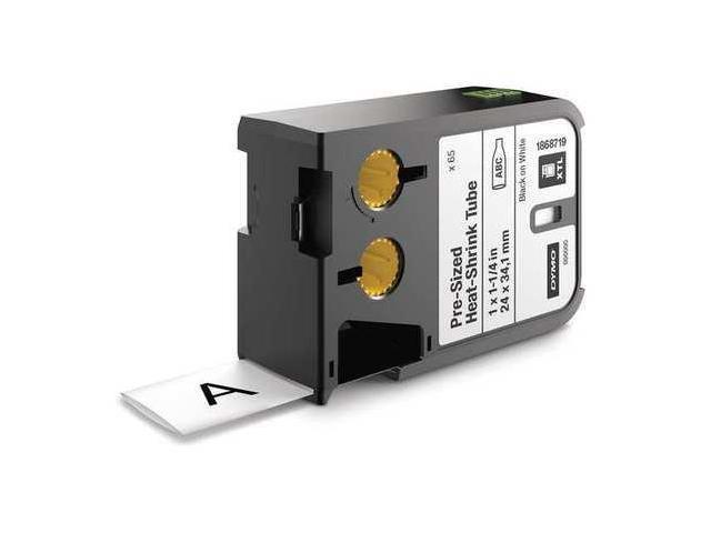SANFORD 1868719 Cartridge Label,1.0 In W,Heat Shrink G0463526