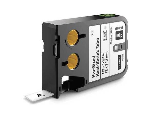 SANFORD 1868718 Cartridge Label,0.5 In W,Heat Shrink G0463535