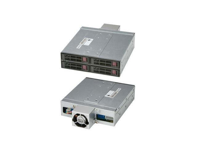 SuperMicro CSE-M14TQC Mobile Rack - 4x 2.5