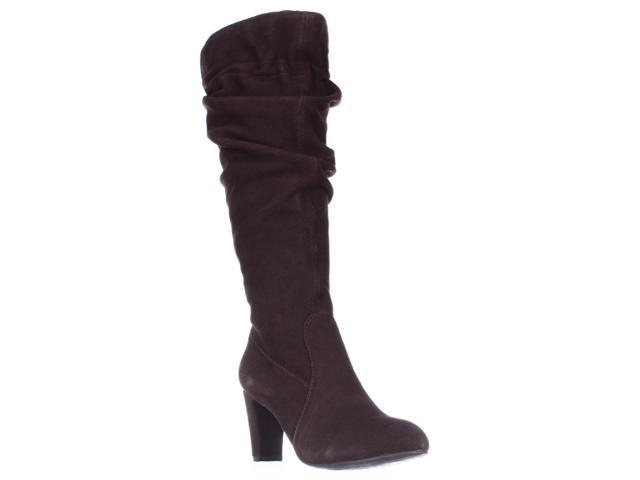 Hot in Hollywood 353581 Knee High Slouch Boots, Chocolate, 6.5 US