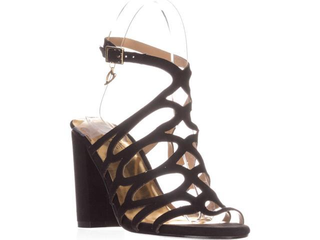 Thalia TS35 Kiarah BlockHeel Dress Sandals Black Black Size 70