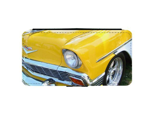 1956 Chevrolet Chevy Belair Classic Car Apple iPhone 6 / 6S Leather Flip Phone Case