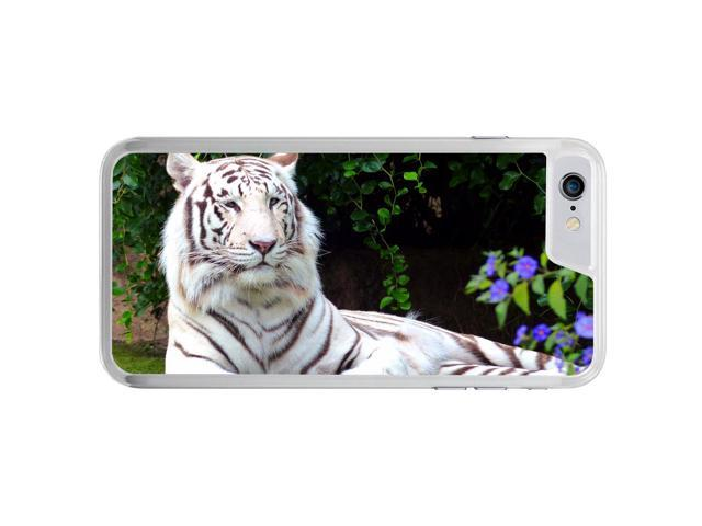 White Bengal Tiger Cat Lying Down Apple iPhone 7 Phone Case