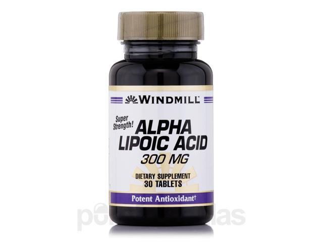 Alpha Lipoic Acid 300 mg - 30 Tablets by Windmill