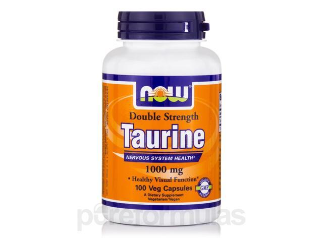 Taurine 1000 mg - 100 Capsules by NOW