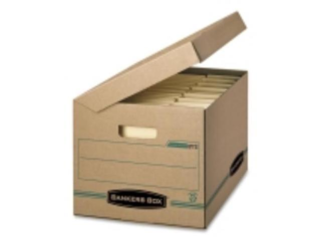 Fellowes Flip-top Attached Lid File Box - Stackable -