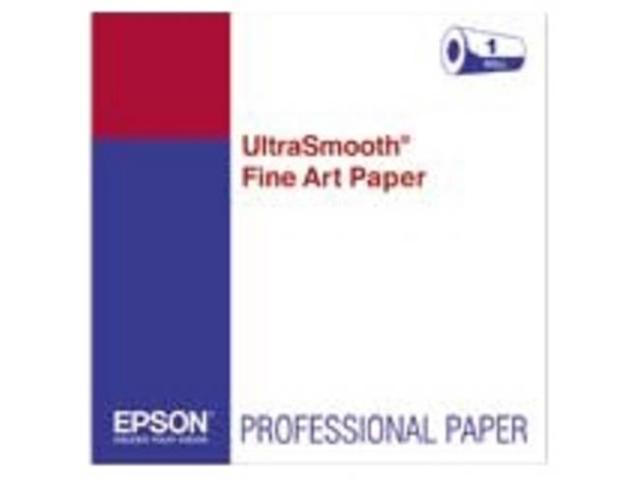 Epson Fine Art Paper - 24 X 50 Ft - 250 G/m - Smooth - 90
