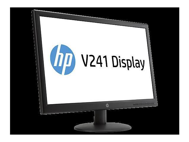 "HP Black 23.6"" 5ms LED Backlight LCD Monitor"