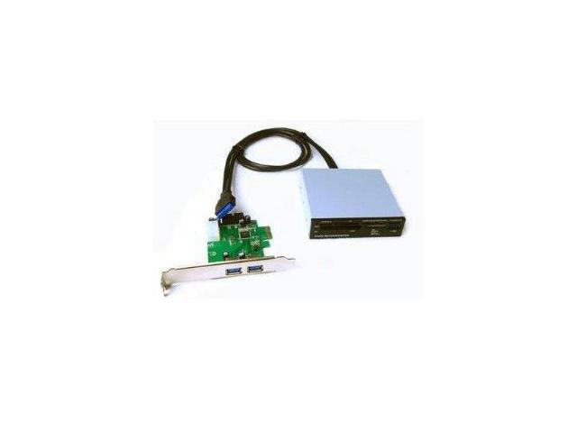 Athenatech PCI-E Card and Reader Combo Model BUN-3CRPCI