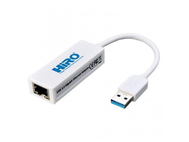 HiRO H50224 USB 3.0 to Gigabit Ethernet Adapter