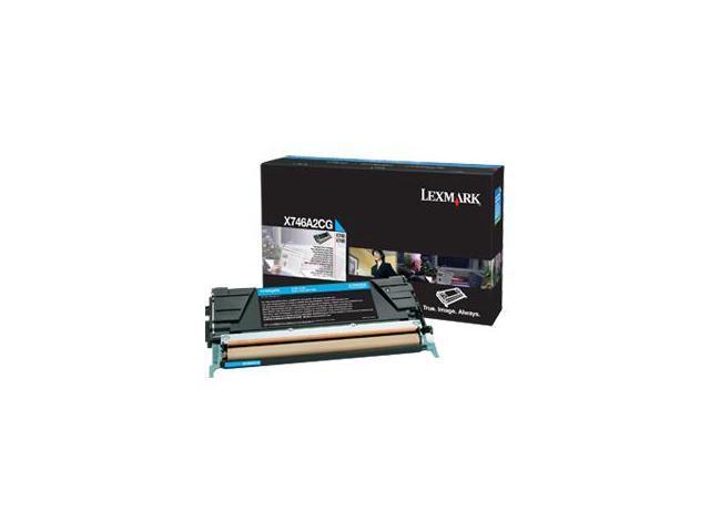 Lexmark - toner cartridge - cyan