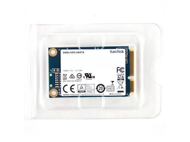SanDisk Z400s mSATA 128GB SATA III Internal Solid State Drive (SSD) SD8SFAT-128G-1122