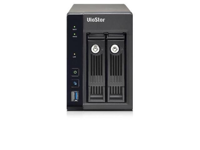 QNAP VS-2208-PRO+-US Intel Quad-Core 2.0GHz/ 4GB RAM/ 2GbE/ 2SATA3/ USB3.0/ 2-Bay Tower NVR for SMB