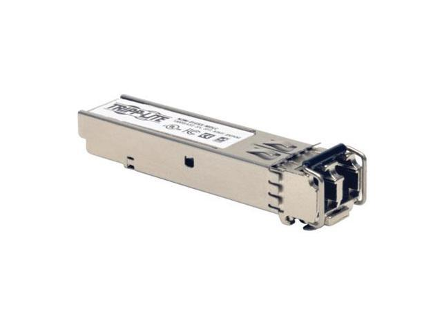 Tripp Lite Cisco GLC-SX-MMD Compatible 1000Base-SX SFP Transceiver with DDM, MMF, 850nm, 550M, LC (N286-01GSX-MDLC)