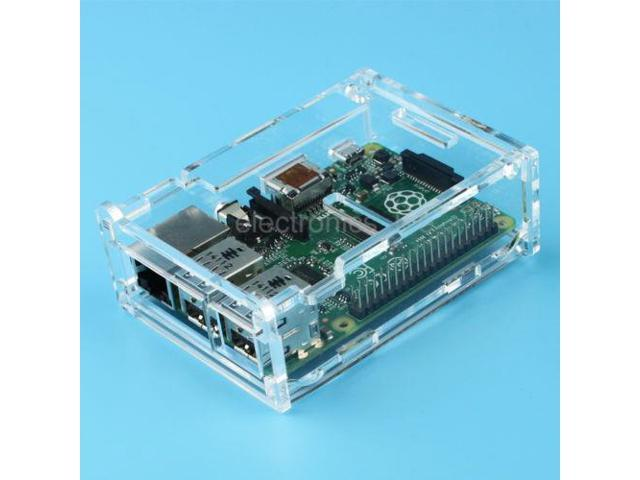 Acrylic Shell Case Box suitable for Raspberry Pi Model B + Board