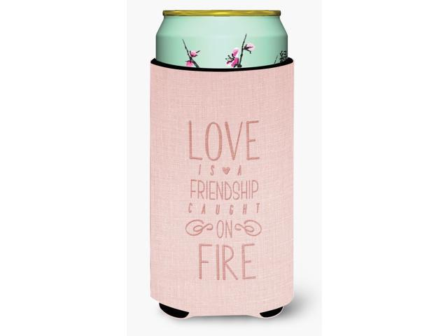 Love is a Friendship Tall Boy Beverage Insulator Hugger BB5459TBC