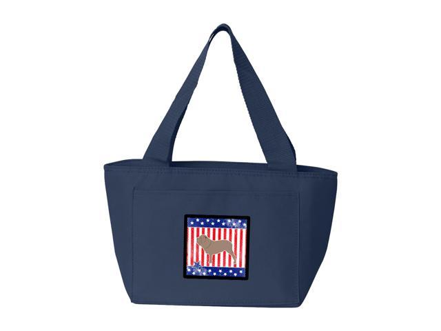 USA Patriotic Neapolitan Mastiff Lunch Bag BB3365NA-8808
