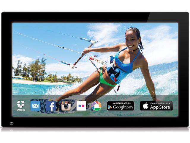 nixplay original 18 inch wifi cloud digital photo frame iphone android app email