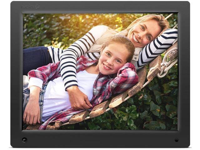 nixplay original 15 inch wifi cloud digital photo frame iphone android app email - Electronic Frames